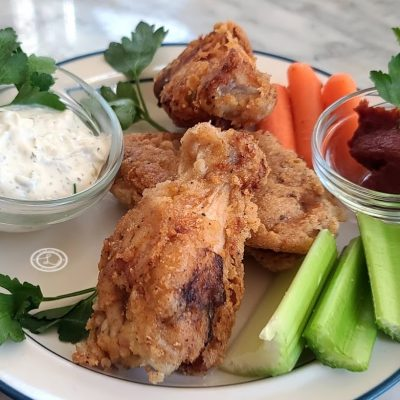 Gluten-Free Fried Chicken Wings
