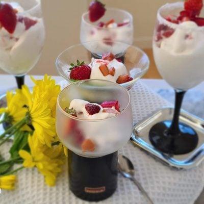 Dairy-Free Soft-Serve Vanilla Ice-Cream