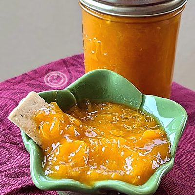 Small Batch Apricot Preserves