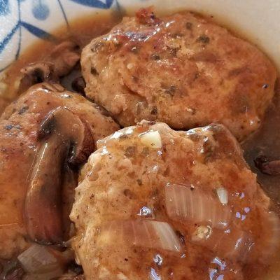 Gluten-Free Smokey Salisbury Steak