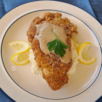 Gluten-Free Chicken-Fried Chicken Gravy