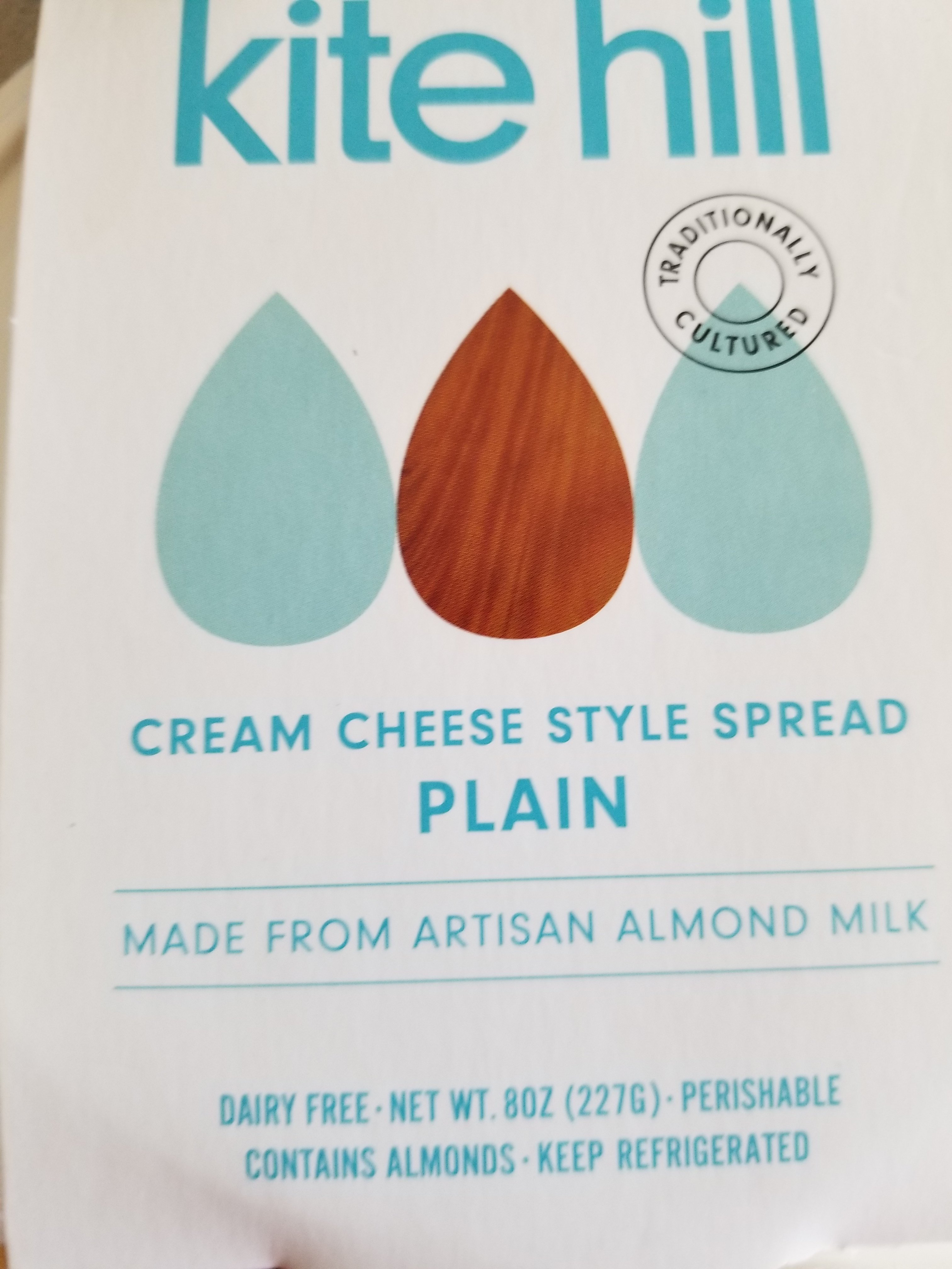 Kite Hill Cream-Cheese Review in the package