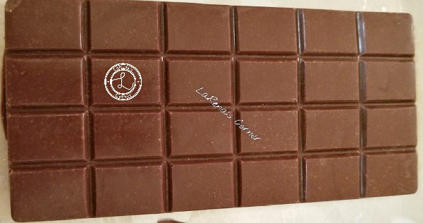 Chocolate Bar from Chocolate Bar Mold