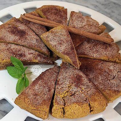 Gluten-Free Cinnamon Pumpkin Scones