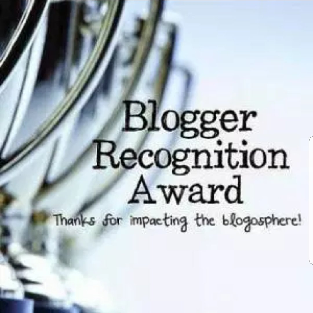 Blogger Recognition Reward
