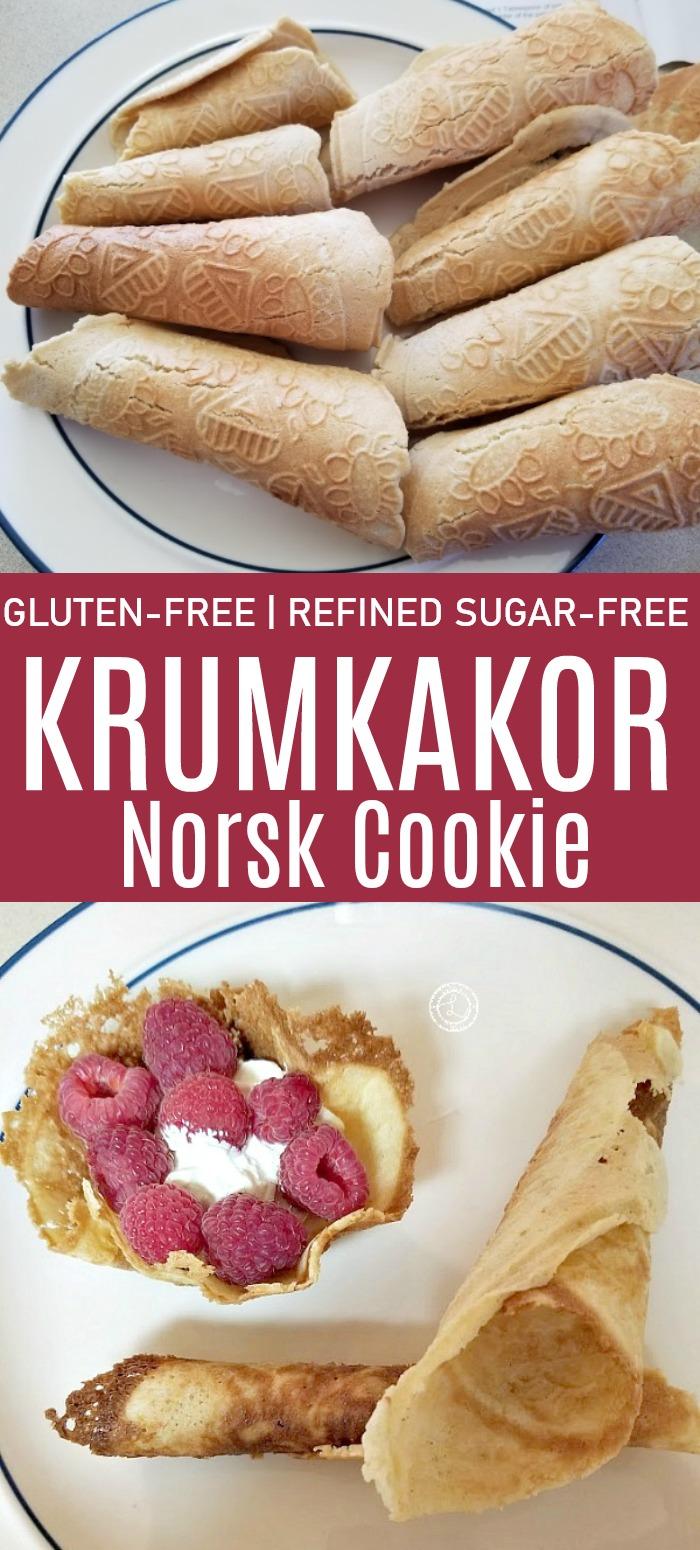 Gluten-Free Krumkakor Norsk Cookie Recipe
