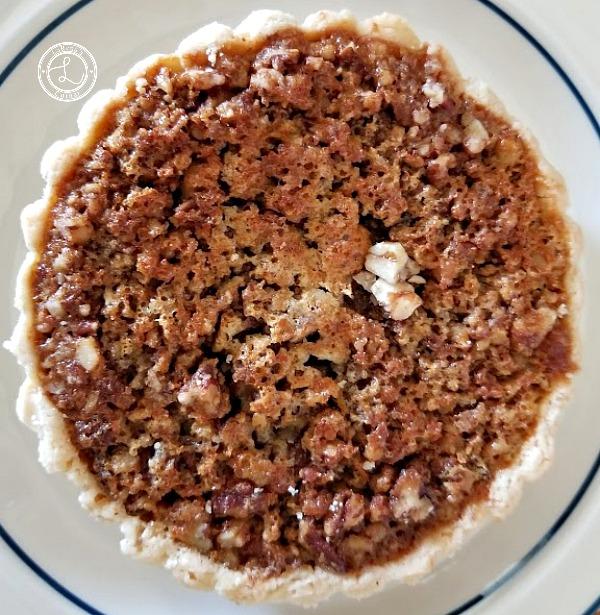 Maple Pecan Tart Filling baked tart