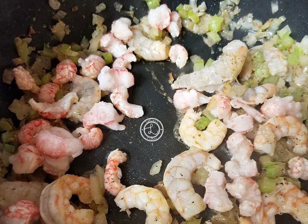 Shrimp and Langostino meat