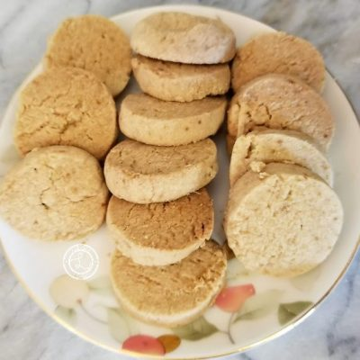 Gluten-Free Lime Meltaway Cookies