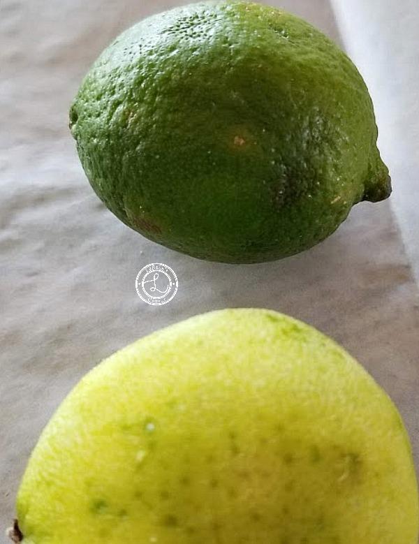 Gluten-Free Lime Meltaway Cookies zesting limes
