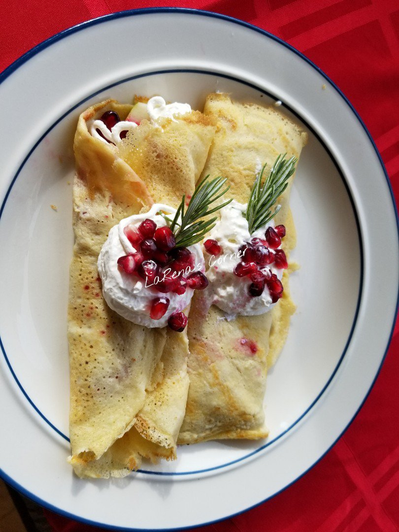 Festive Holiday Crepes