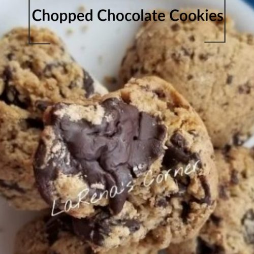 Gluten-Free Chopped Chocolate Cookies