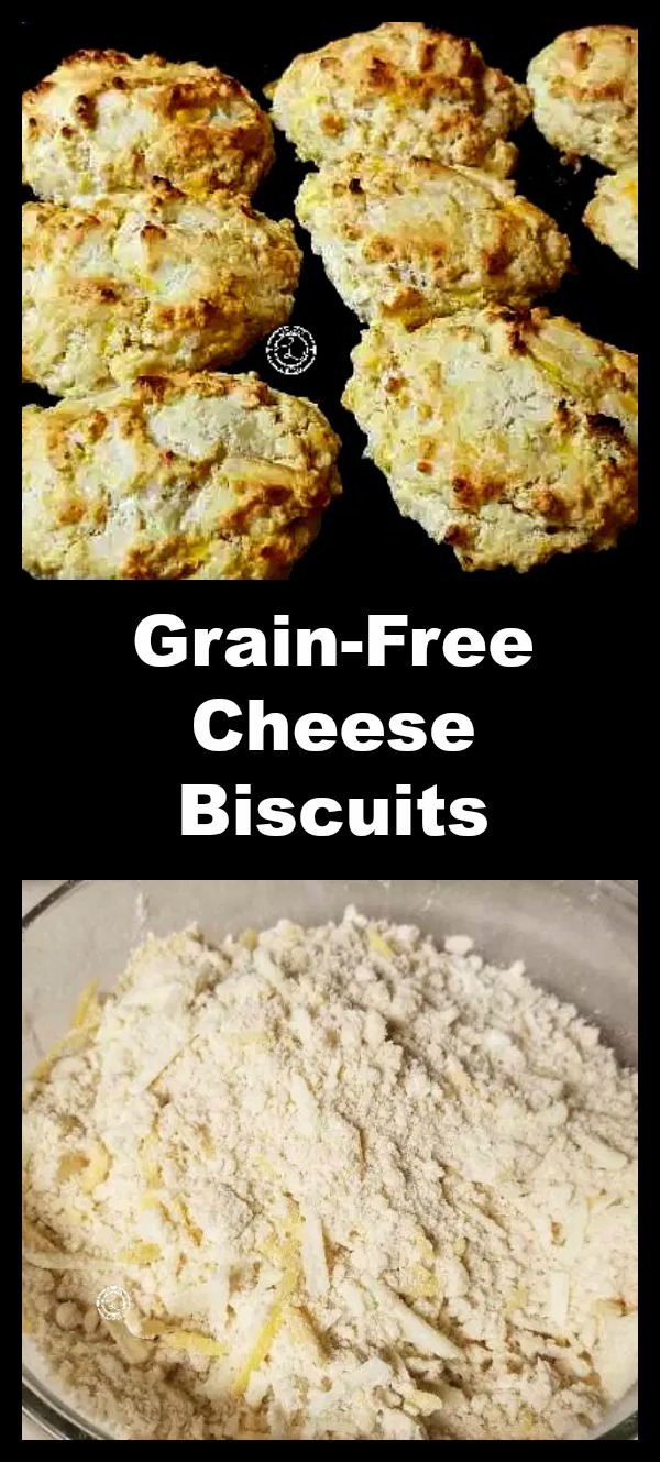Grain-Free Cheese Biscuits collage