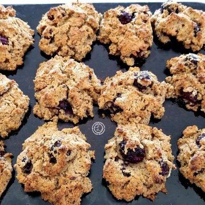 Gluten-Free Blackberry Biscuits