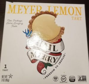 The Box Meyer Lemon Tart comes in