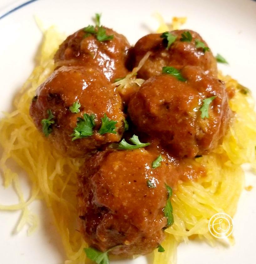 Pineapple Turkey Meatballs