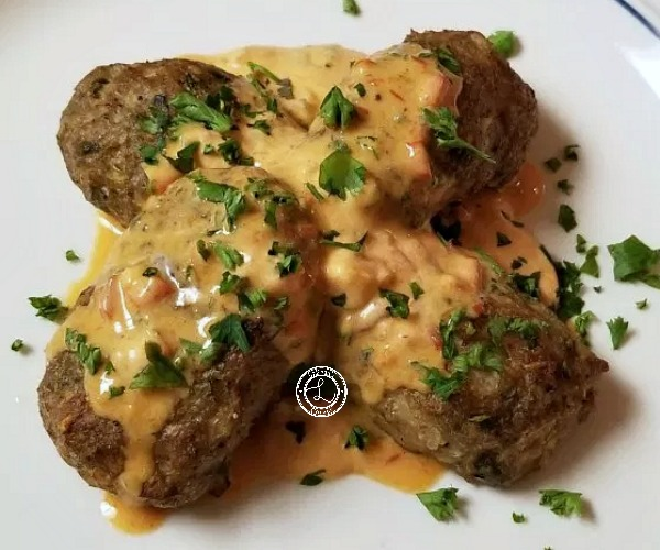 Gluten-Free Moroccan Kefta with Dipping Sauce