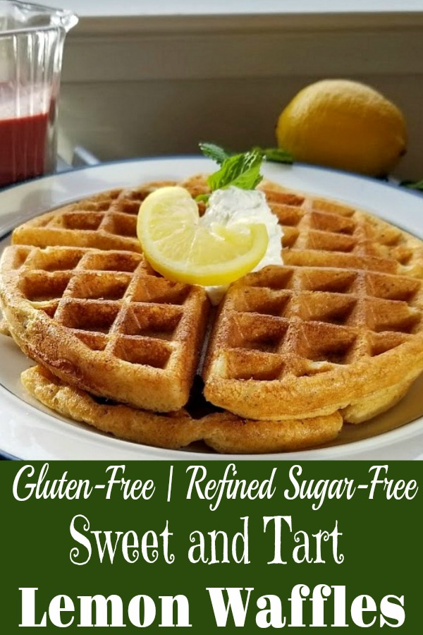 Gluten-Free Sweet and Tart Lemon Waffles