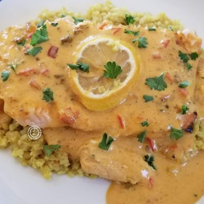 Keto Curry Salmon