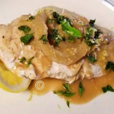 Mediterranean Foil Baked Chicken