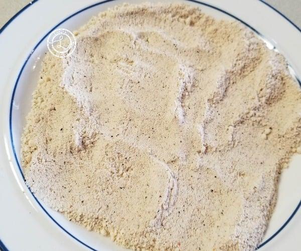 Flour mixture combined