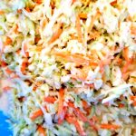 Shredded cabbage and coleslaw