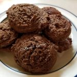 Gluten-Free Cocoa Mint Cookies on a plate