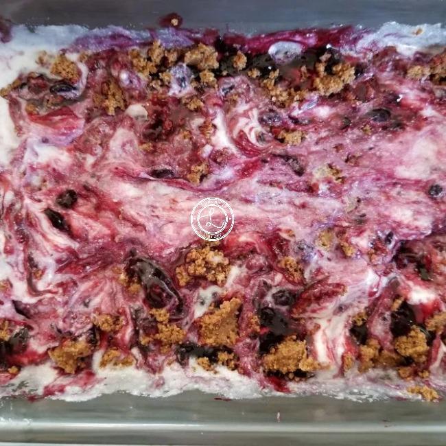 Dairy-Free Huckleberry Ice Cream