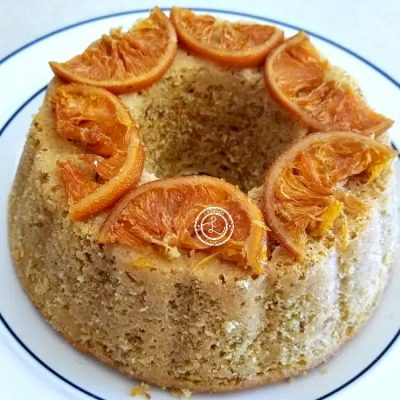 Vegan Orange Marmalade Cake