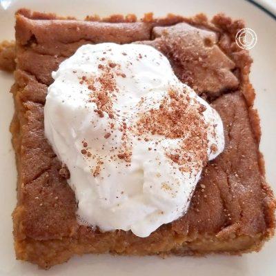 Refined Sugar-Free Pumpkin Slab Pie