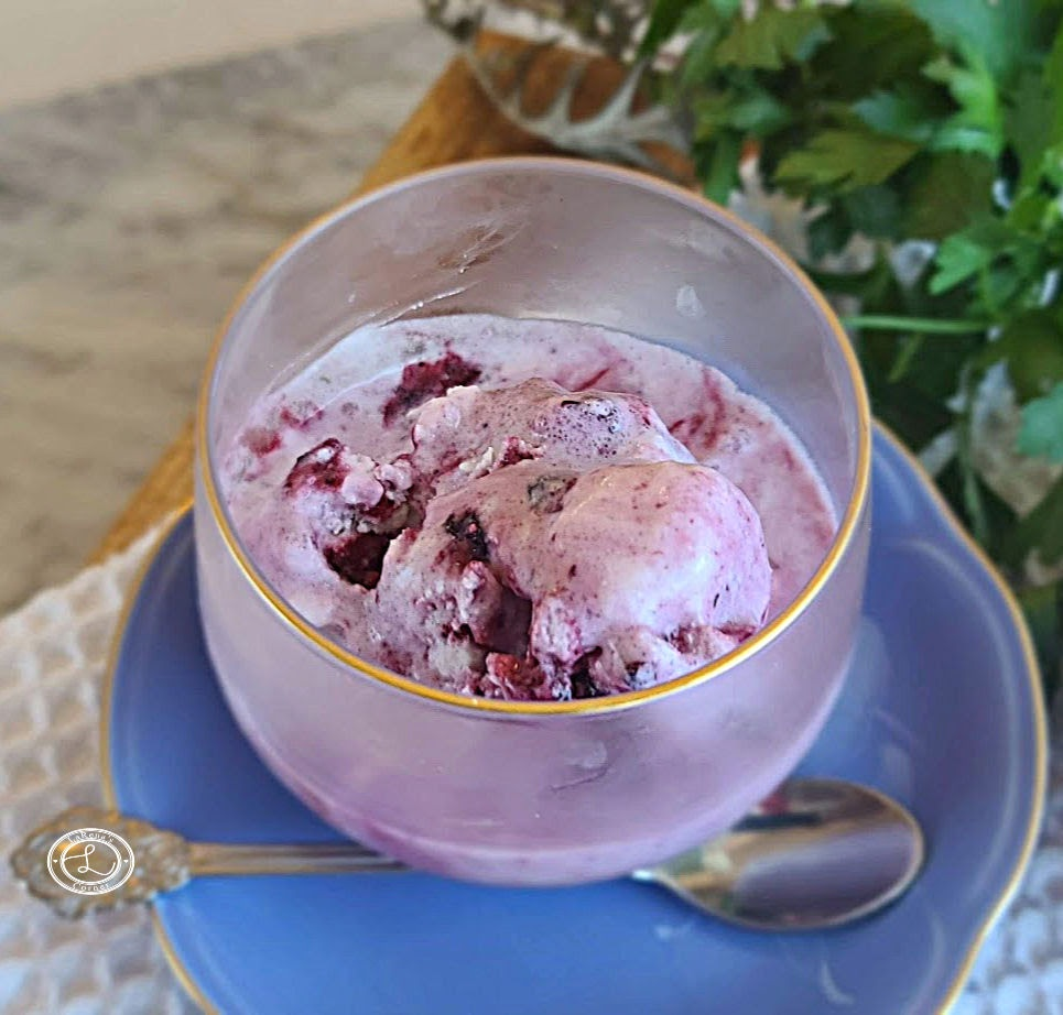 A small bowl of Ice Cream