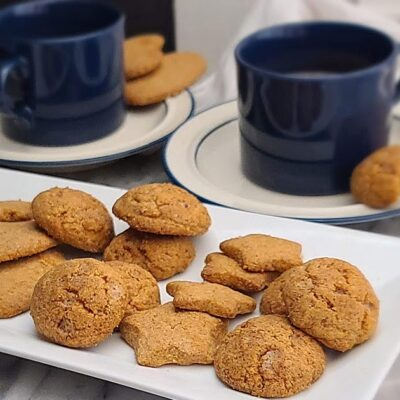 Gluten-Free Swedish Gingersnap Cookies