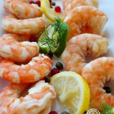 Scandinavian Lemon Dill Shrimp