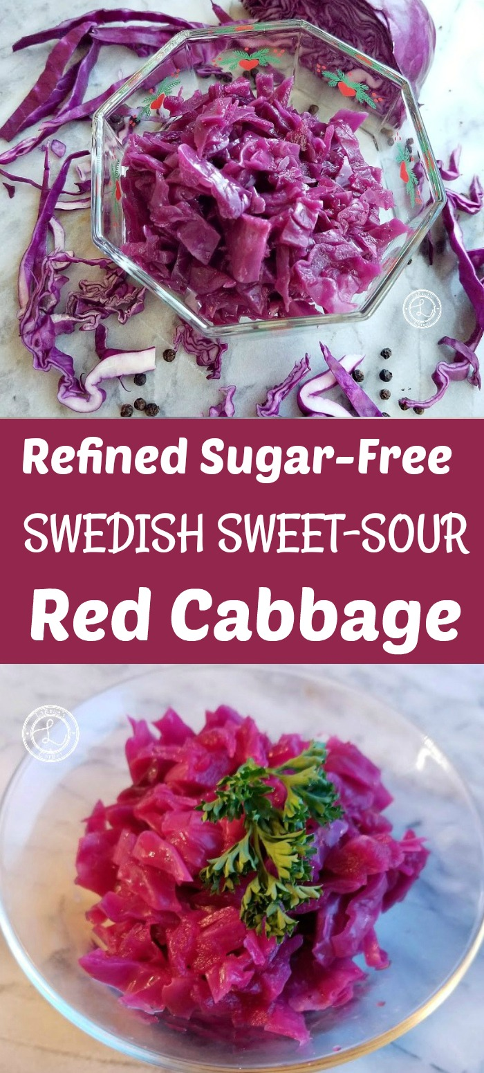 Swedish Sweet and Sour Red Cabbage