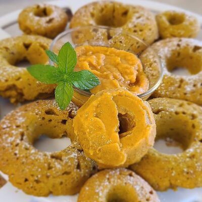 Refined Sugar-Free Pumpkin Glaze