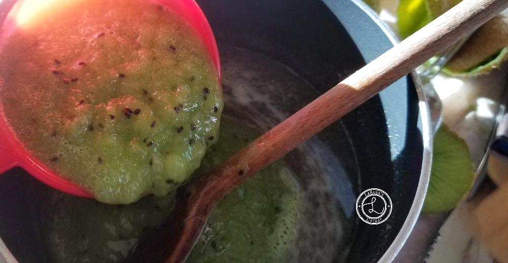 Kiwi Gelatin for Kiwi Lime Flan