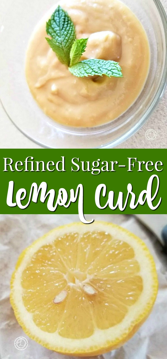 Refined Sugar Free Lemon Curd recipe