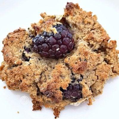 Gluten-Free Blackberry Earl-Grey Biscuits
