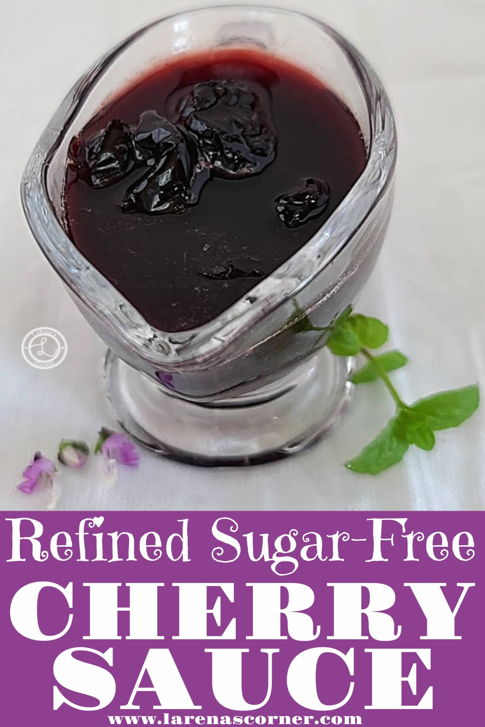 Refined Sugar-Free Cherry Sauce