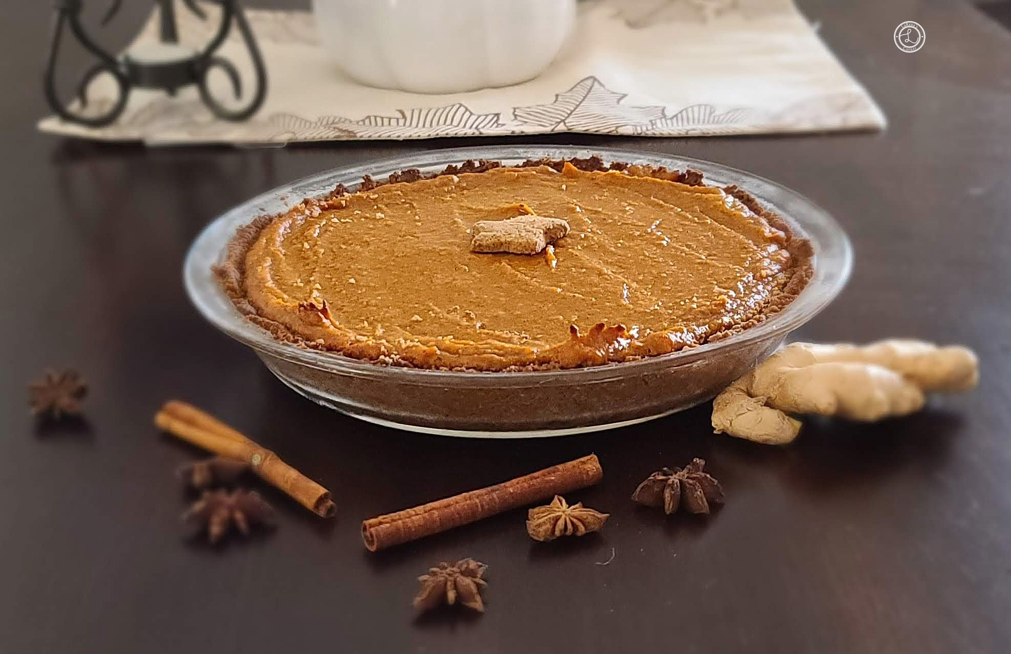 Speculaas Sweet Potato Pie