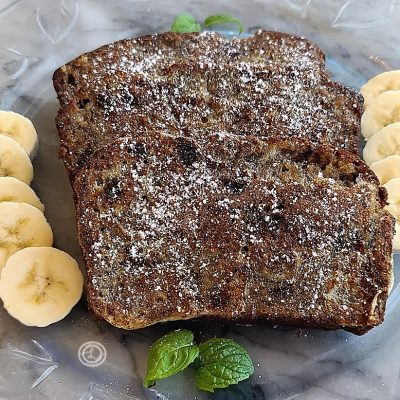 Gluten-Free Banana French-Toast